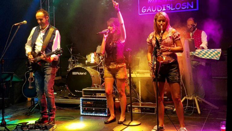 liveband, Lampionfest 2018 im Lohwald Unterschleißheim